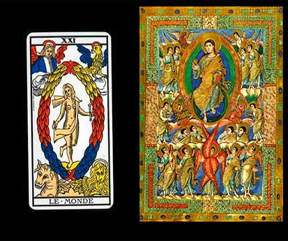 Visualización Creativa-Tarot